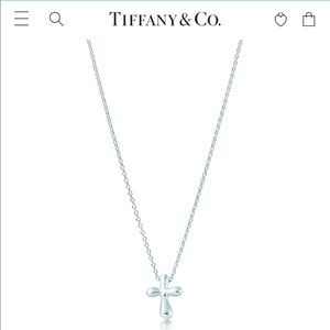 Tiffany Cross Pendant